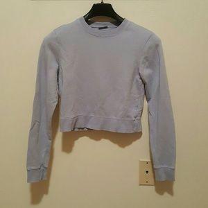 NWOT Brandy Melville Cropped Sweatshirt